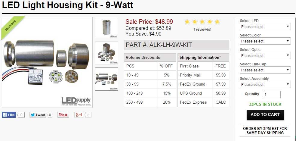LED Kit Page