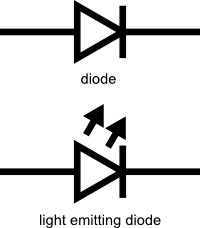light emitting diode schematic