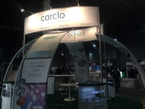 Carclo Optics Booth at Strategies in Light