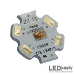 Luxeon Amber LED Star
