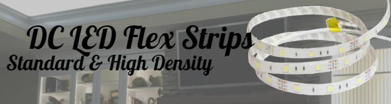DC LED Flex Strips