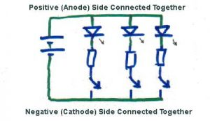 wiring leds correctly series parallel circuits explained parallel circuit