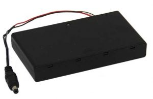 8aa battery holder for LED strips