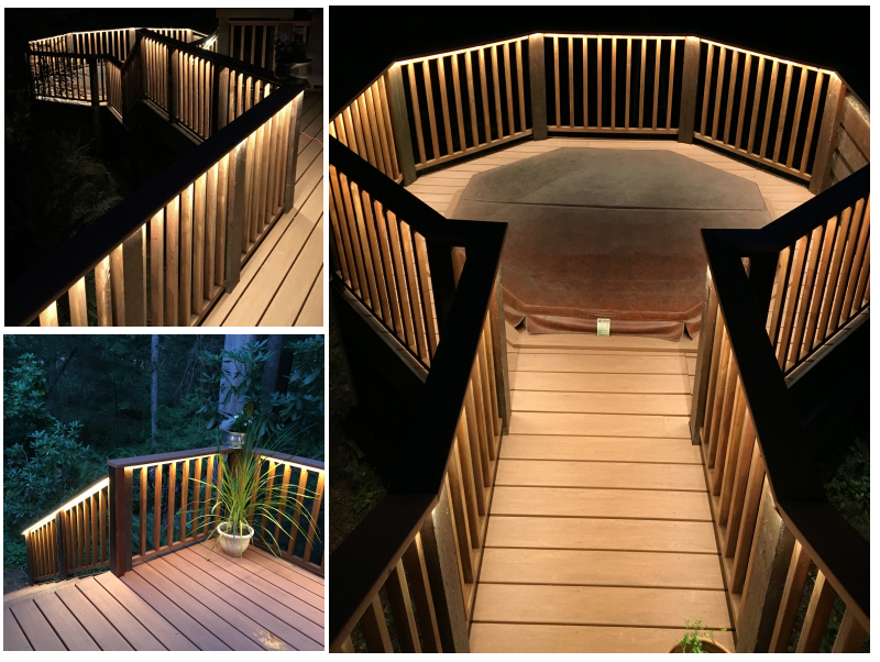 ... Outdoor Led Strip On Deck