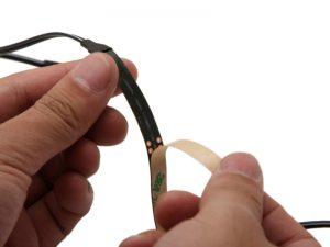 LED Strip Adhesive (peel off) Backing