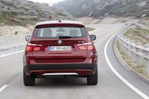 BMW X3 rear lights