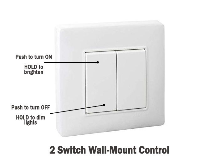 Wall-mount-pwm-dimmer-switch