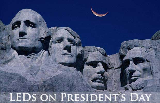 A Lighting Timeline Of Mount Rushmore Ledsupply Blog