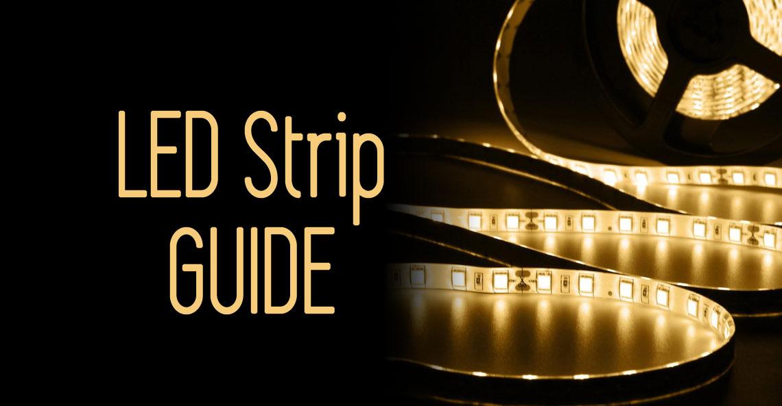 Image of: Ultimate Guide On Buying Led Strip Lights Ledsupply Blog