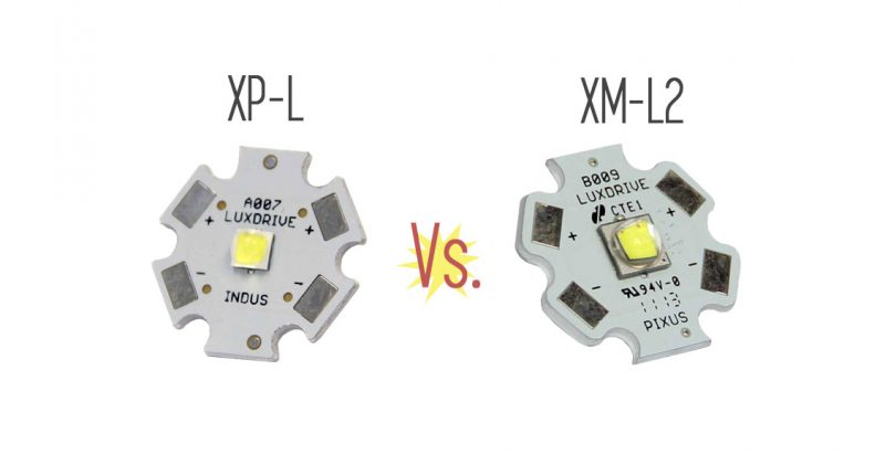 Cree XP-L vs  XM-L2: What's the Difference - LEDSuppy Blog
