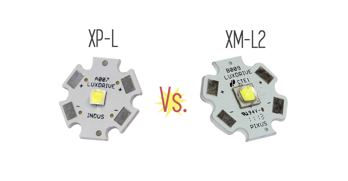 Confronto Lumen Watt Led.Cree Xp L Vs Xm L2 What S The Difference Ledsuppy Blog