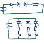 Super Wiring Leds Correctly Series Parallel Circuits Explained Wiring Cloud Inamadienstapotheekhoekschewaardnl