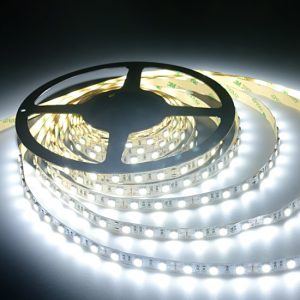 12 volt led light strips powering and wiring ledsupply blog cool white flexible led strip light non waterproof aloadofball Image collections