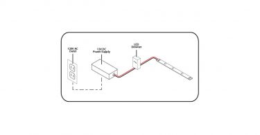 12 volt led light strips: powering and wiring