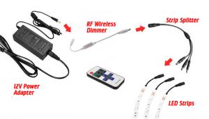 LED strip splitter cables