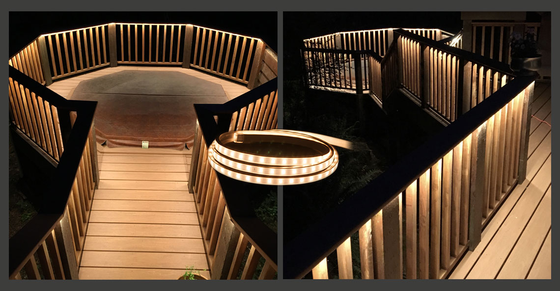 Image of: 120v Led Light Strips Long Run Strips For Indoors And Out Ledsupply Blog