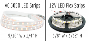 LED Strip light comparisons