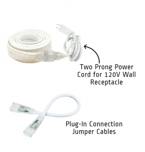 LED Strip power cords