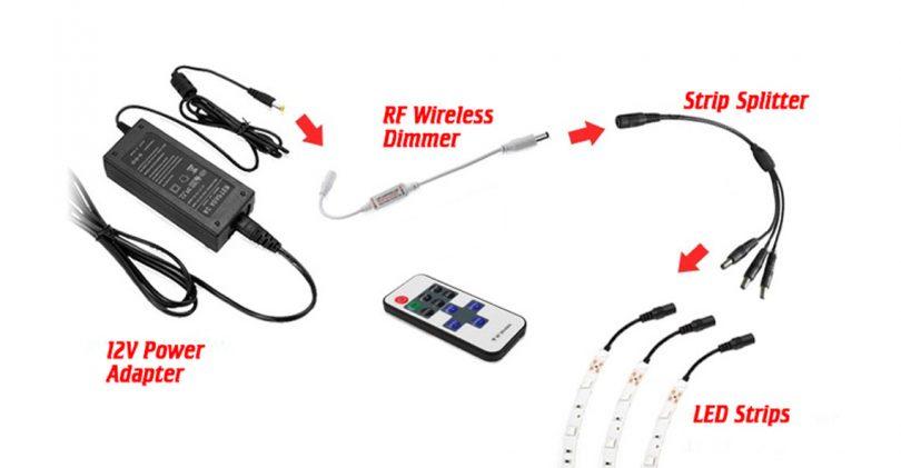 [SCHEMATICS_4US]  Splitter Cables for LED Strip Lights - LEDSupply Blog | Bulb Wiring Diagram Led Strip Light Wire For |  | LEDSupply