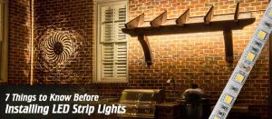 12V LED Strip Light Guide