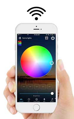 iPhone Smart Lighting App