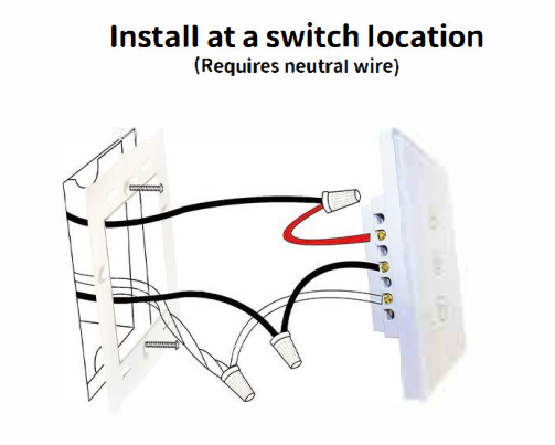 Wall Mounted Dimmer Install