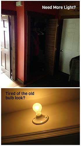 Diy Motion Activated Led Battery Closet Light