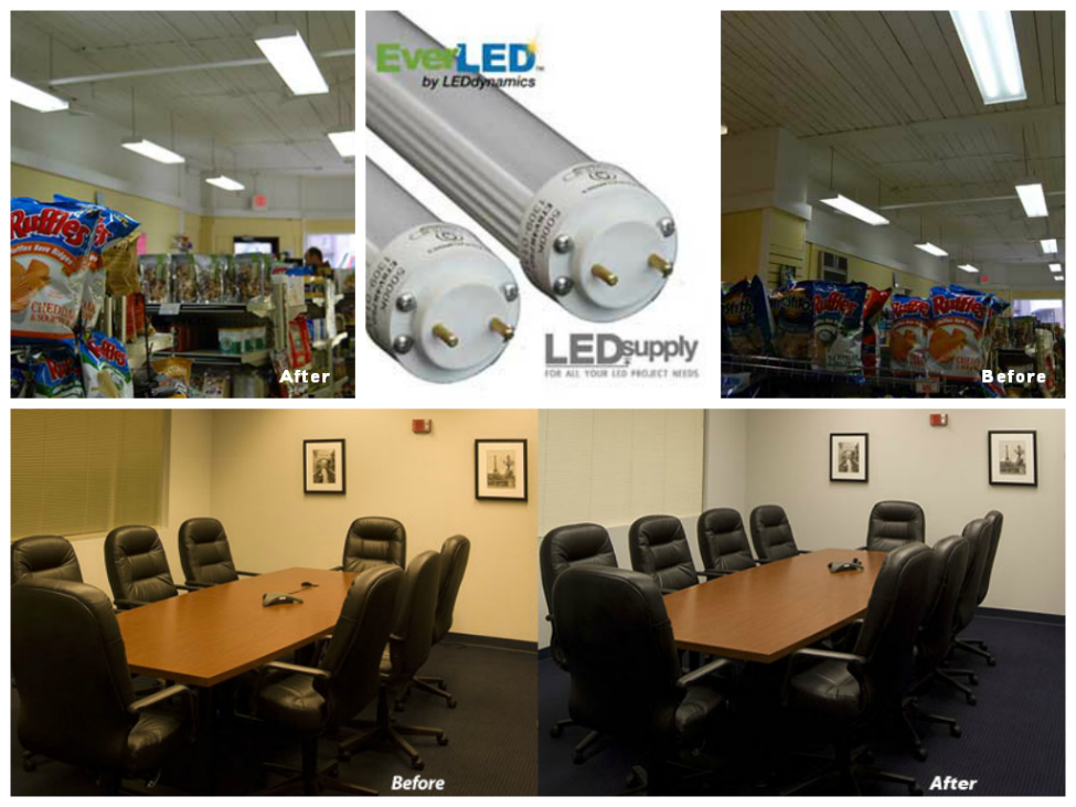 EverLED T8 Bulb Applications