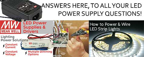 LED Power Supply Questions and Answers
