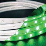 Green AC LED Flex Strip