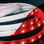 Red AC LED Flex Strip