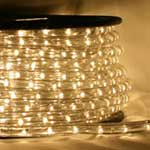 Warm-White LED Rope Light