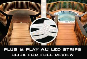 plug n play ac led strip review