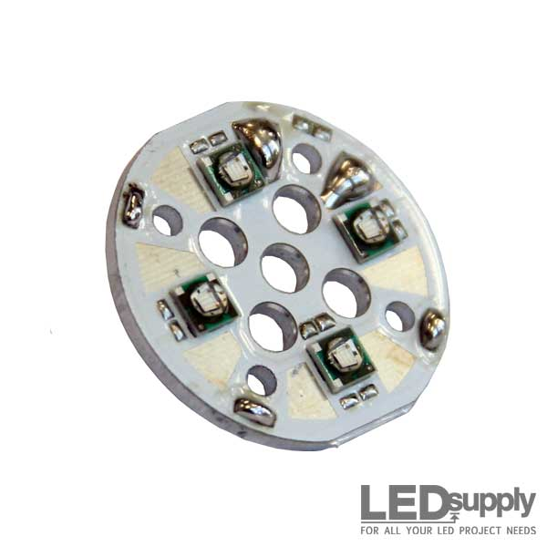 1W Orange Amber 610nm 1W 3W High Power LED Light Emitting Diode Component for Printed Circuit boards PCB 1 x LED