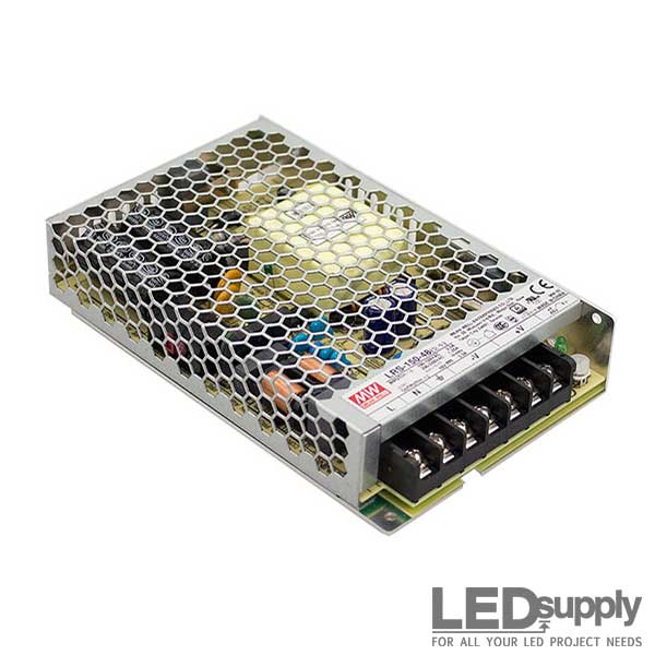 LRS Mean Well Enclosed Switching Power Supplies