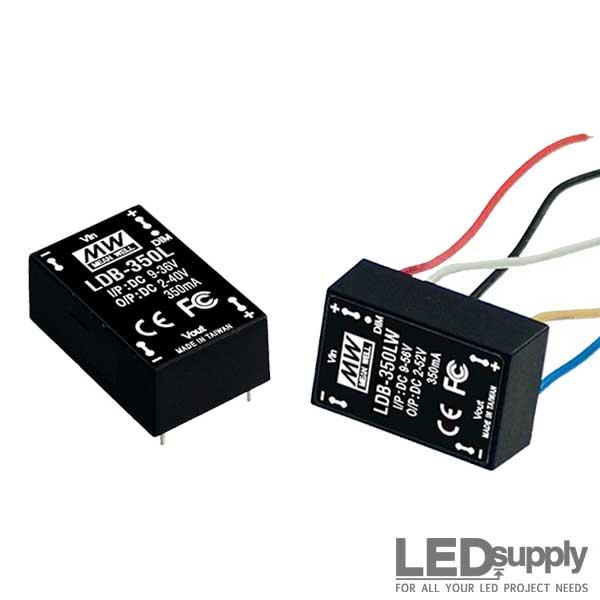 DC-DC constant current LED driver 9-56V:2-52V 500mA