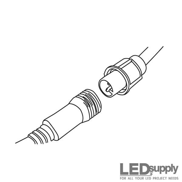 Led rope light jumper extensions aloadofball Images