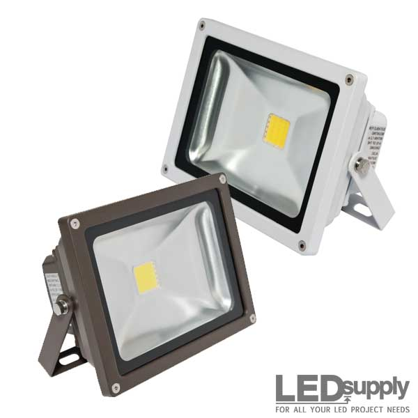 20 watt led flood light. Black Bedroom Furniture Sets. Home Design Ideas