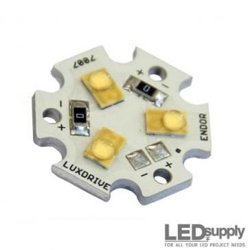Luxeon R Triple (3-Up) Neutral-White LED Star
