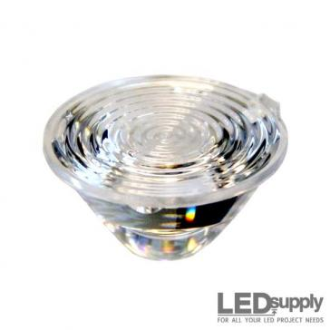 10003-25 Carclo Lens - 20mm Ripple Wide Spot LED Optic