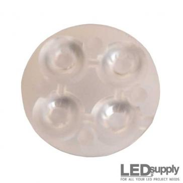 10624 Carclo Lens - Quad Frosted Wide Spot LED Optic