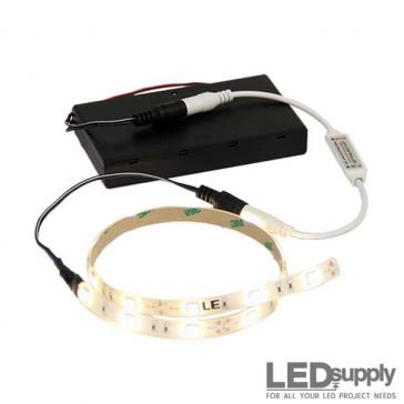 Battery-Operated Flexible LED Light Strip