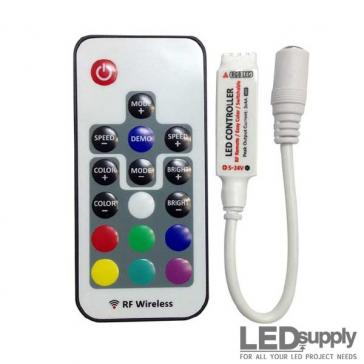RGB Remote Control RF Dimmer for LED Strip Lighting
