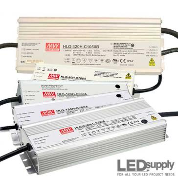 Mean Well HLG-C Series Constant Current LED Driver