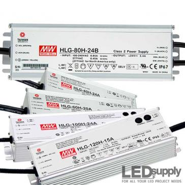 Mean Well HLG Series CV+CC Power Supply