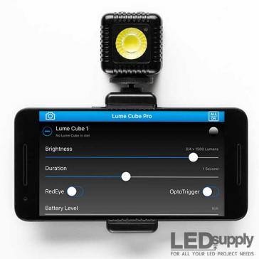 Smartphone Mount for Lume Cube