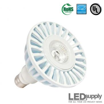 PAR38 Warm-White Dimmable LED Retrofit Lamp