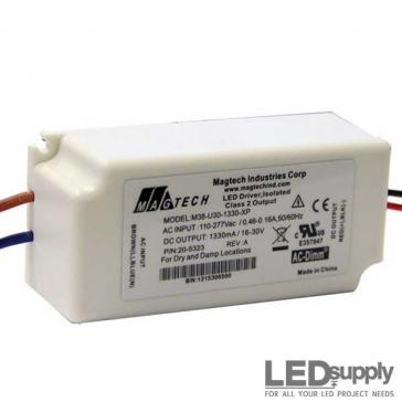 MagTech - 38-Watt, 1330mA Constant Current LED Driver