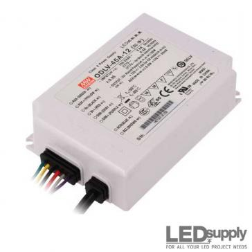 Mean Well ODLV Series 45 Watt Constant Voltage Power Supply with PWM Output