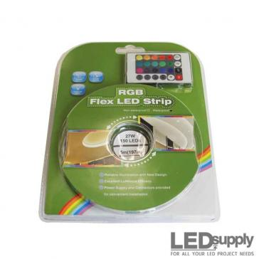 LED Flex Strip Kit - RGB with Remote Control
